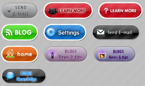 web buttons free download